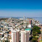 Guayaquil visto desde el aire